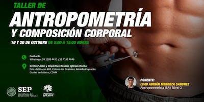Taller de Antropometria y composición corporal