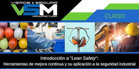 Introducción a Lean Safety boletos