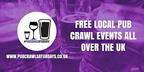 PUB CRAWL SATURDAYS! Free weekly pub crawl event in Eccles tickets