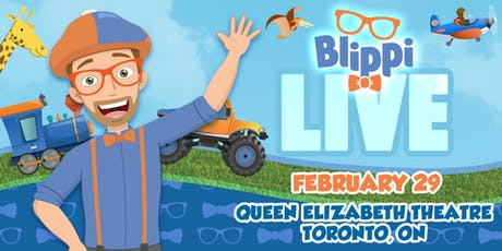 BLIPPI LIVE! tickets
