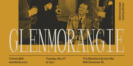 Glenmorangie Whisky Dinner tickets