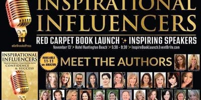 Inspirational Influencers Red Carpet Book Launch