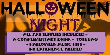 Art N Sipping ( Halloween Party) 7:30-9:30 tickets