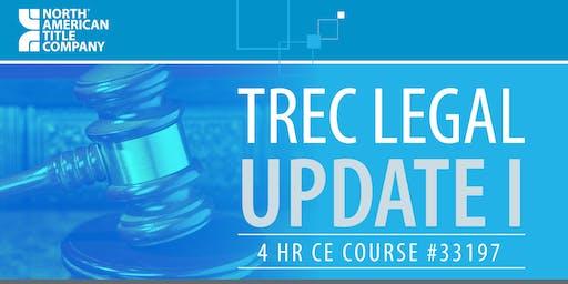 TREC Legal Update I - Course - (33197) ($30)