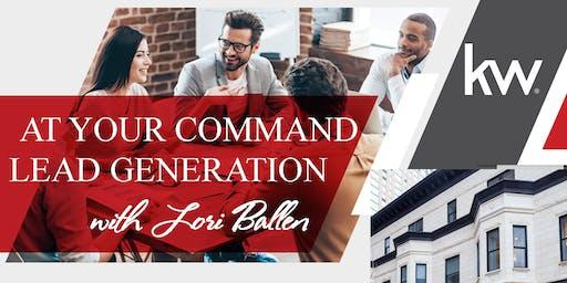 At Your Command Lead Generation w/ Lori Ballen