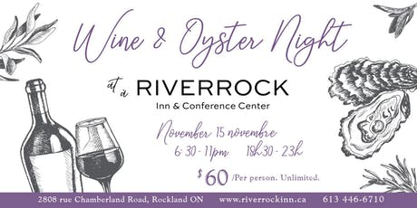 Wine & Oyster Night  tickets