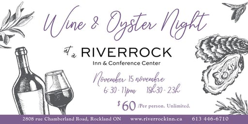 Wine & Oyster Night