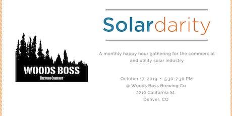 Solardarity October 2019 tickets