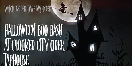 Crooked City Cider Boo Bash tickets