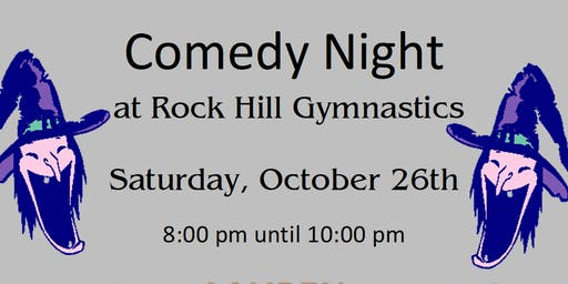 Comedy Night at Rock Hill Gymnastics