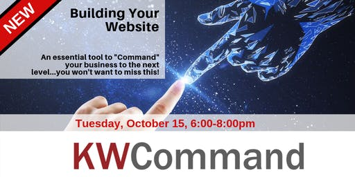 KW Command Training: Building your Website