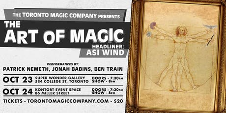 The Art of Magic with headliner Asi Wind tickets