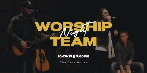 Worship Team Night
