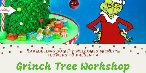 Grinch Tree Workshop