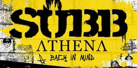 SUBB Athena Back in Mind + Invités billets