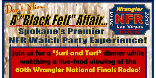 A Black Felt Affair - A Premier NFR Watch Party Experience
