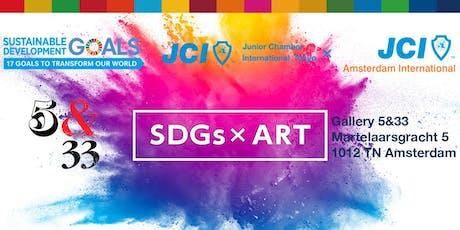 SDG x ART Expose tickets