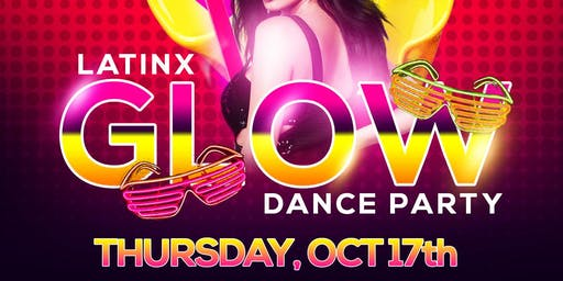 Latinx Glow Dance Party at Union Rooftop