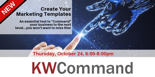 KW Connect Training - Create your Marketing Templates