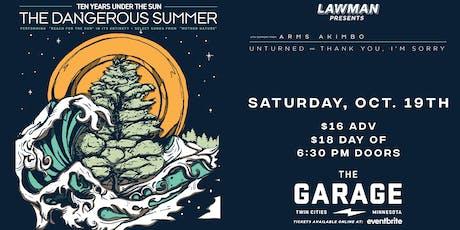 The Dangerous Summer tickets