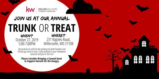 Trunk or Treat at Keller Williams Flagship of Maryland