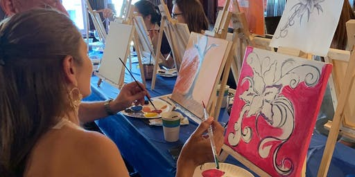 Russia House Paint Night