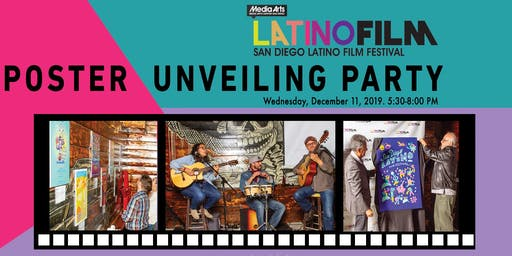 Poster Unveiling Party - 27th SD Latino Film Festival