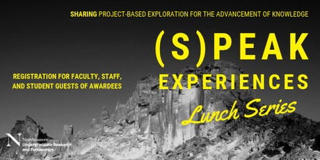 (S)PEAK Experiences Lunch Series: GUEST tickets