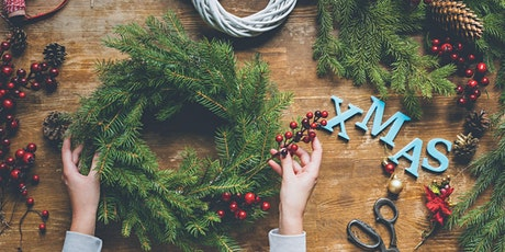 Make Your Own Christmas Wreath or Door Garland tickets