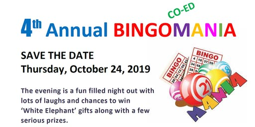 4th Annual Bingomania Fundraiser