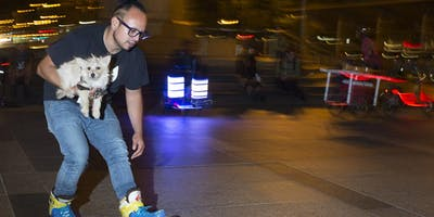 Nighttime Street Photography: Learn how to capture a public space at night