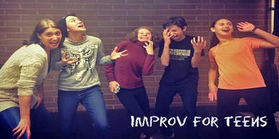 Improv Class Ages 12+ : Dynamic YouthProv! 8 Weeks WINTER