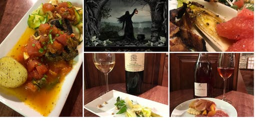 All Hallows Eve Wine Dinner featuring Chef Regan Stachler and Neal Thornton from Sour Grapes