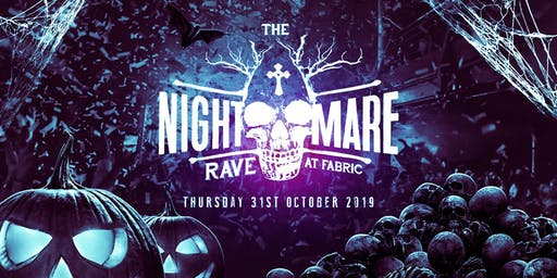 HALLOWEEN 2019 at FABRIC // £7, £9, £12 TICKETS SOLD OUT //GET YOURS ASAP‼️