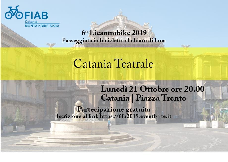 6ª Licantrobike 2019 - Catania Teatrale
