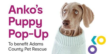 Anko's Puppy Pop-Up! tickets