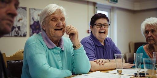 Creative Engagement for Dementia - A practical workshop