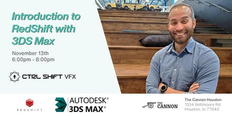 Ctrl Shift VFX Presents: Intro to RedShift in 3DS Max tickets