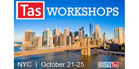 EDSL Tas: NYC Workshops tickets