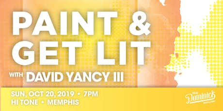 Paint & Get Lit @ Hi Tone tickets
