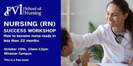 Nursing (RN) Success Workshop - Do you deserve to become a Nurse? tickets