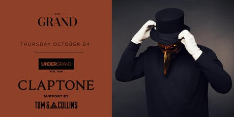 UnderGrand Vol: 018 // Claptone //  10.24.19 tickets
