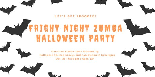 Fright Night Zumba Halloween Party 2019