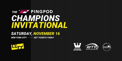 Pro Table Tennis: PingPod Champions Invitational