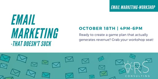 Email Marketing- That Doesn't Suck