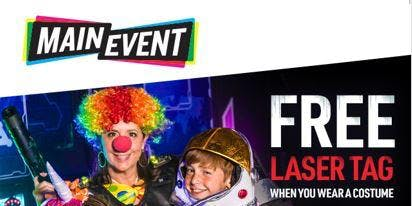FREE MAIN EVENT HALLOWEEN FUNTOBER