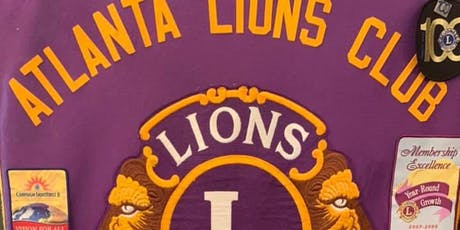 Atlanta Lions Club Luncheon & Speaker Program tickets