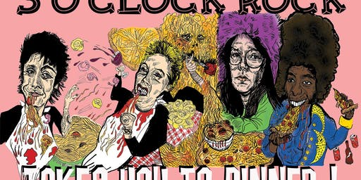 3 O'Clock Rock Takes You To Dinner! Concert and Fundraiser Event
