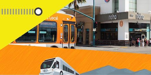 Metro North Hollywood Pasadena BRT Workshops