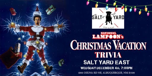 National Lampoon's Christmas Vacation Trivia at Salt Yard East